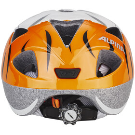 Alpina Ximo Cykelhjälm Barn orange/vit